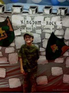 This is my son Tom, my little prayer warrior!